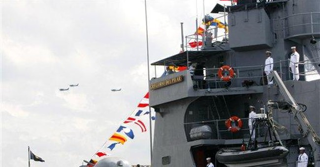 Philippines launches warship amid territorial row