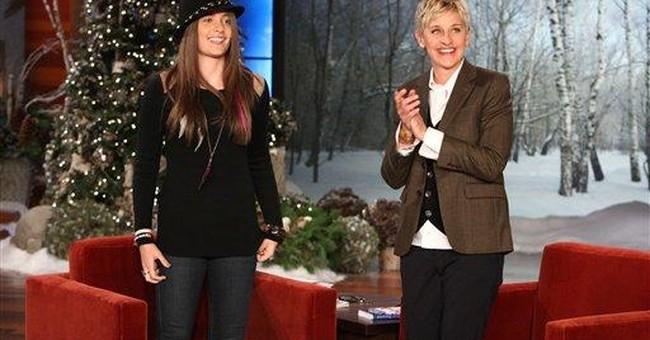 Jackson daughter tells 'Ellen' about acting dreams