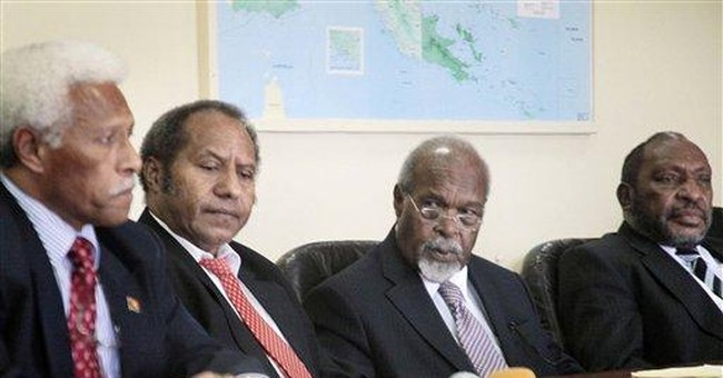 Papua New Guinea deadlocked over rival leaders