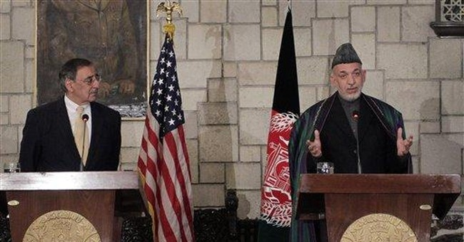 Panetta: US at turning point in Afghanistan war