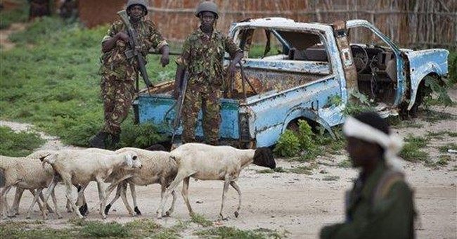 Kenyan forces pledge further push into Somalia