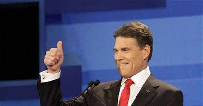 Rick Perry likens himself to QB Tim Tebow