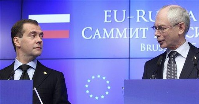Medvedev: Russia pledges to help euro