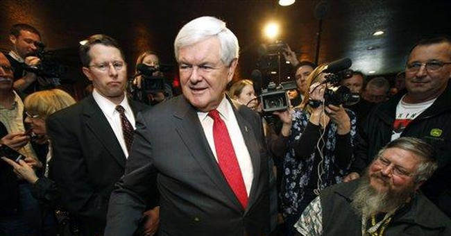 Iowa GOP governor unsure of Gingrich's discipline