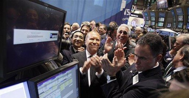 Michael Kors designs a successful IPO