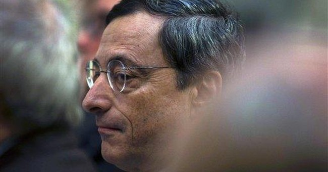 ECB chief Draghi: Governments must save themselves