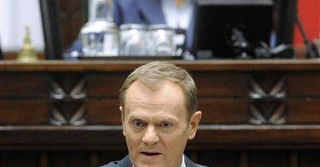 Polish lawmakers debate nation's EU future