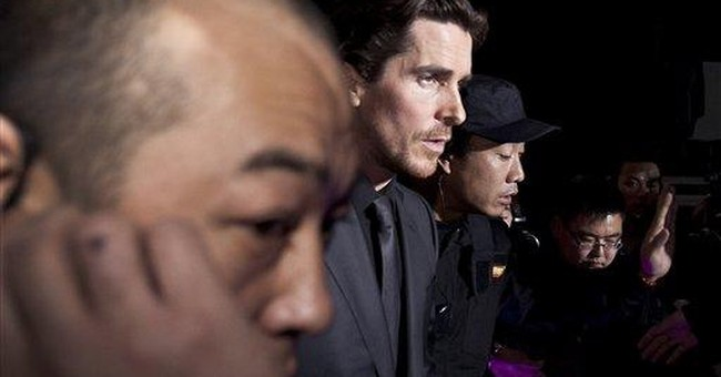 China says Christian Bale should feel embarrassed
