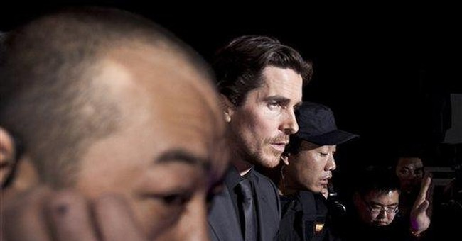 'Batman' star Bale tries to visit China activist