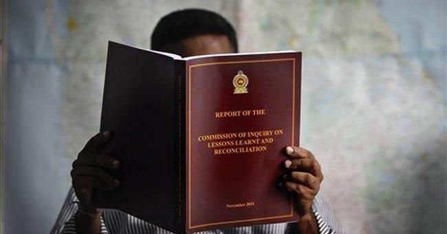 Sri Lankan commission: Civilians weren't targeted