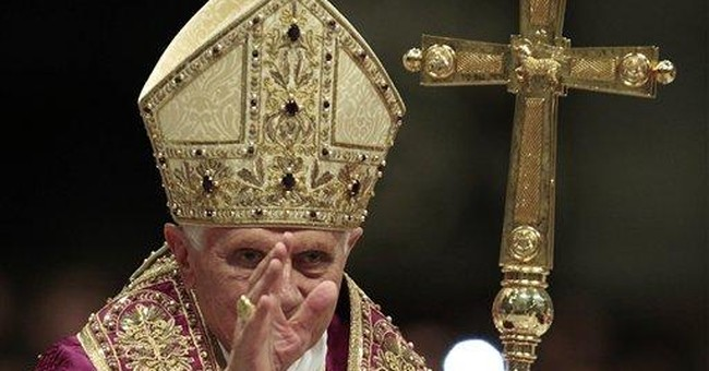 Pope emphasizes human dignity