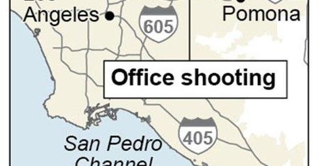 No motive in deadly LA-area office shooting