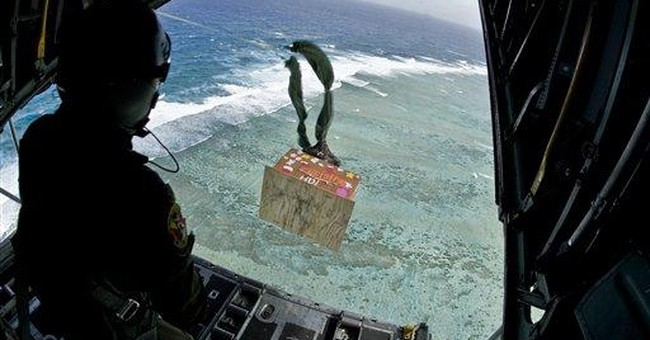 US troops conduct Christmas drop over remote isles