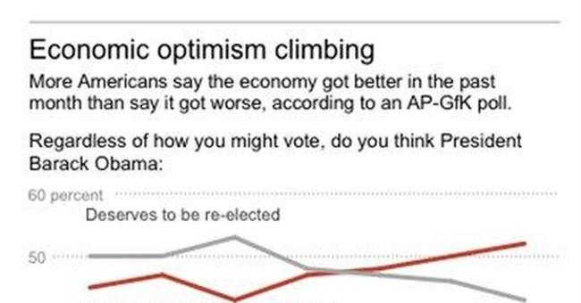 AP-GfK Poll: More than half say Obama should lose
