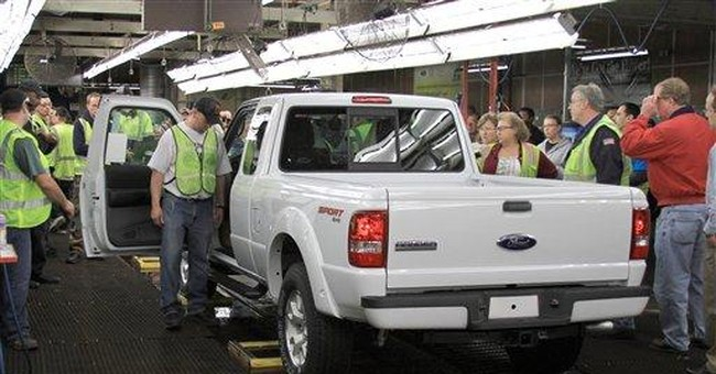 St. Paul Ford plant sees final truck off the line
