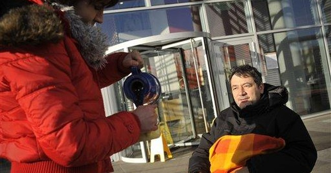 Hungarian state TV employees on hunger strike