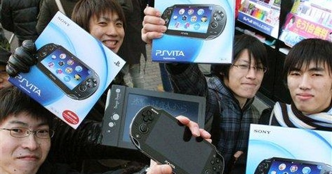 Sony's PlayStation Vita hits stores in Japan