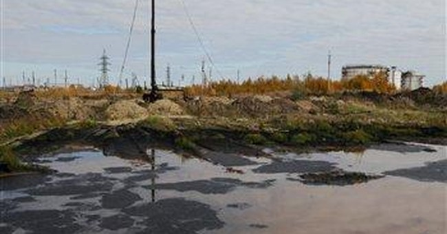AP Enterprise: Russia oil spills wreak devastation