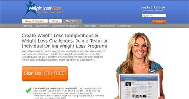 Websites make weight-loss wagering easy