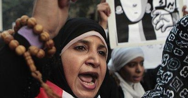 Egypt women march against army in fury over abuse