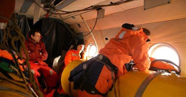 Lifeboats found empty in search for Russian crew