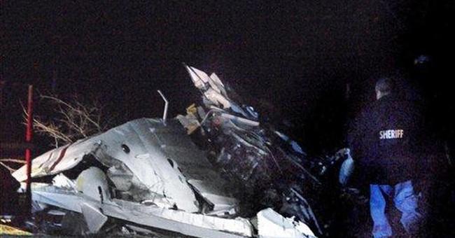 5 killed in plane crash in central Texas