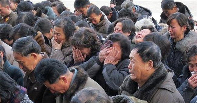 Sea of mourners gather in North Korean capital