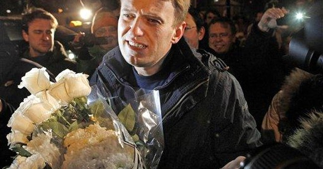 2 jailed Russian opposition leaders freed
