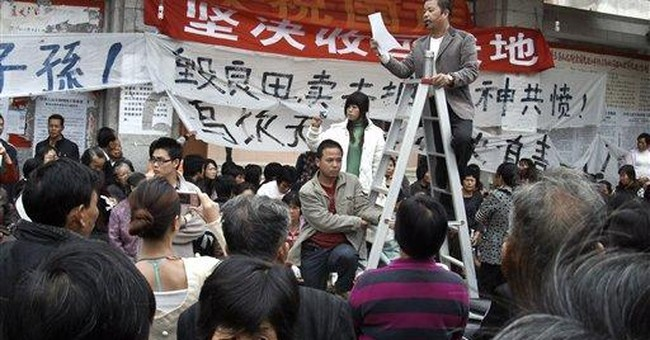 Protesting villagers in China win rare compromise