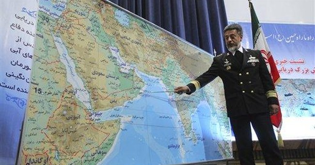 Iran's navy to hold drill in international waters