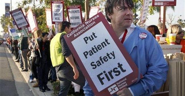 Hospitals to lockout striking nurses