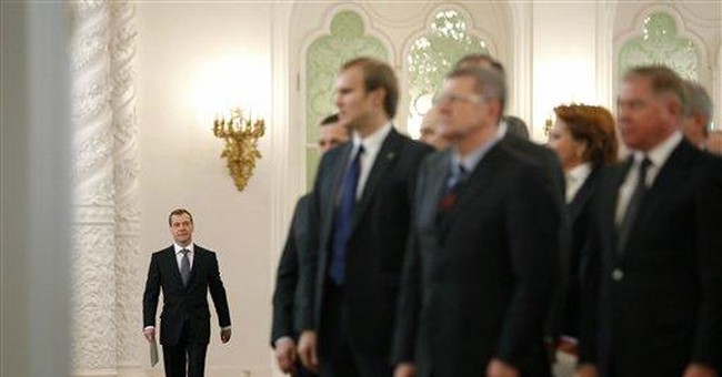 Medvedev offers some reforms but demands stability