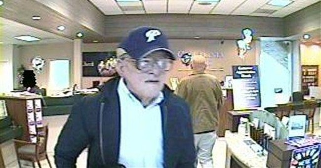 FBI: Geezer Bandit may be too spry to be a senior