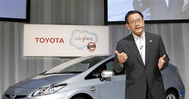 Toyota aims to sell 8.48 million vehicles in 2012