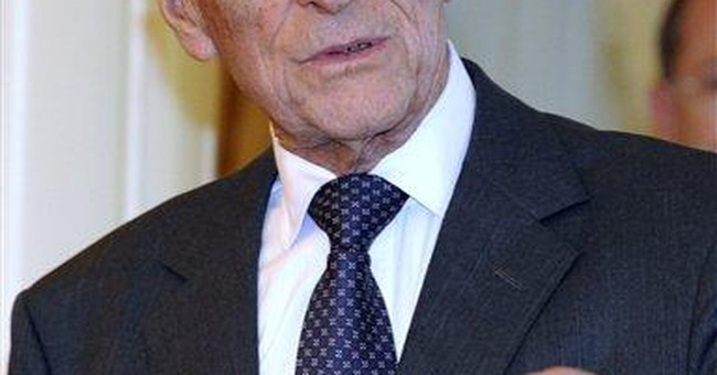 UK's Prince Philip remains in hospital