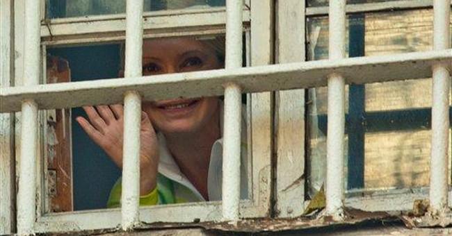 Ukraine's ex-PM Tymoshenko moved to prison colony