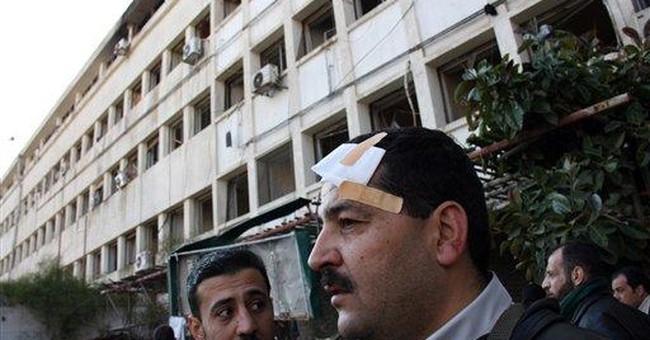 Twin suicide bombs shake Syrian capital, kill 44
