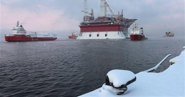 Russian oil rig sinking casts doubt on Arctic plan