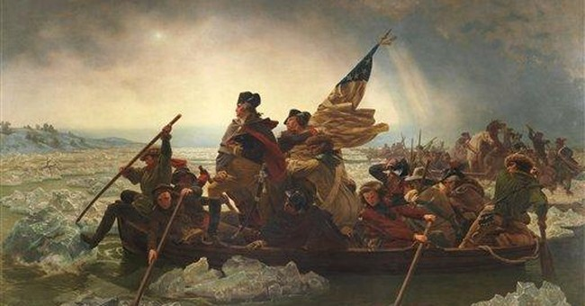 More accurate view of Washington crossing debuts