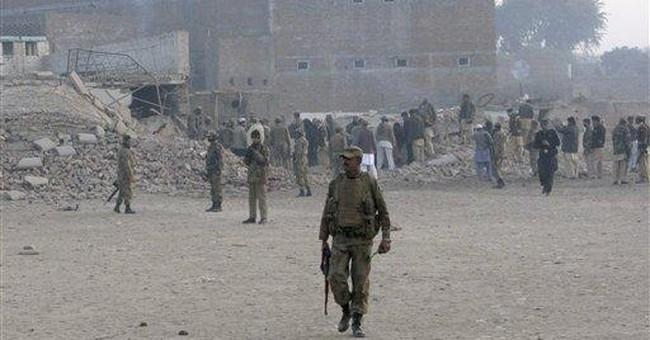 Taliban suicide bomber kills 6 Pakistani soldiers