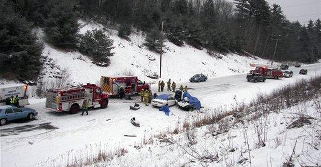 4 killed in Maine crash, state's worst in 2011