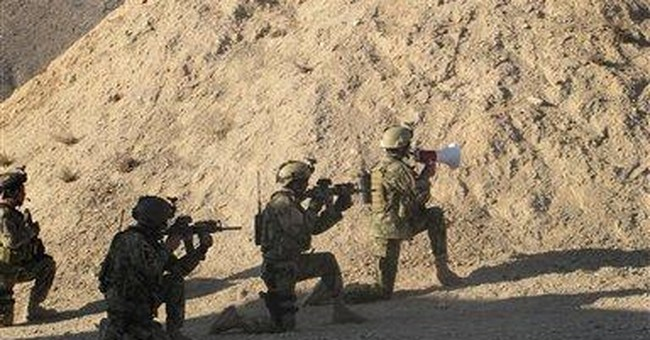 Training stepped up for Afghan special forces