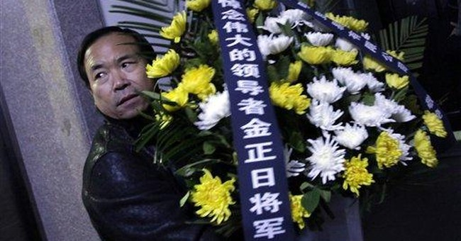 NKorea shows wailing mourners on Kim funeral day