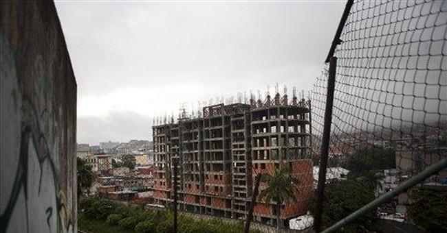 Chavez struggles to fix Venezuela's housing crisis