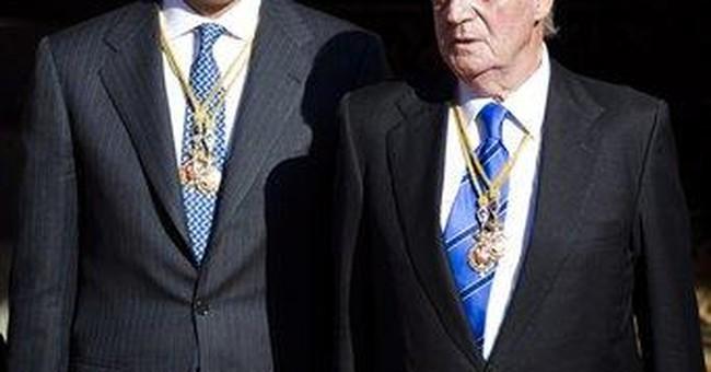 Juan Carlos earns $382,000 to reign in Spain
