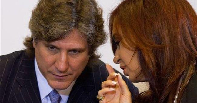 Argentine leader's cancer forces her to delegate
