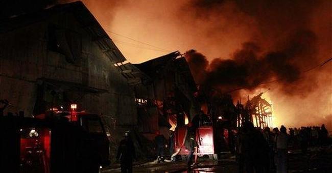Fire kills 17 in Myanmar's main city of Yangon