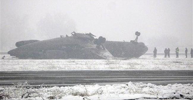 31 injured in jet's crash-landing in Kyrgyzstan