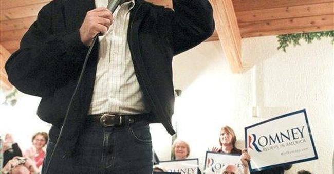 Romney, sensing opening, makes big push in Iowa