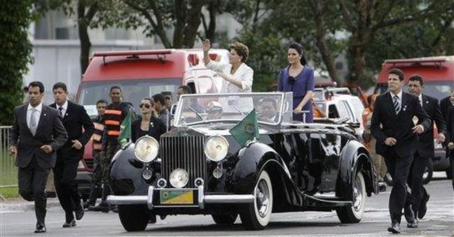 Popular Brazil president helps women in politics